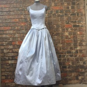 Vintage Jessica McClintock Gunne Sax dress, 5/6